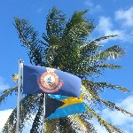 Flag of the Bahama's, Freeport Bahamas