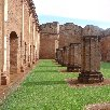 Ruins of the Jesuit Church in Jesus and Trinidad Paraguay