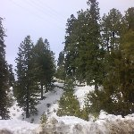 Wintertime in Murree, Pakistan