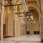 Photos inside the Al Fateh Mosque in Manama, Bahrein