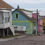 Saint Pierre Saint Pierre and Miquelon Colourful houses of Saint-Pierre