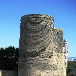 Maiden Tower in Baku, Azerbaijan