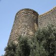 Pictures of the Maiden Tower in Baku, Azerbaijan