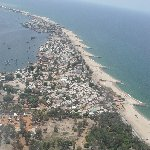 Helicopter Ride from Dande to Luanda Angola Blog Photography