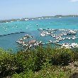 Panoramic photos of Simpson Bay, Sint Maarten, Philipsburg Netherlands Antilles