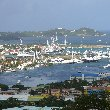 Panoramic pictures of Sint Maarten, Philipsburg Netherlands Antilles
