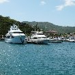 The boats in Marigot, St Martin