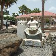 Statue of a market lady in Marigot, St Martin