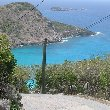 The way down hill to Governour's Beach, Saint Barthelemy