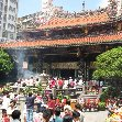 Pictures of Longshan Temple in Taipei, Taiwan