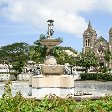 Independence Square in Basseterre, Saint Kitts and Nevis, Basseterre Saint Kitts and Nevis