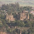 View of the Fasilides Castle in Gondar, Ethiopia, Gondar Ethiopia