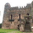 Panoramic pictures of the Fasilides Castle in Gondar, Ethiopia
