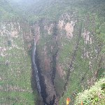 The waterfalls of Simien Mountains NP, Ethiopia, Gondar Ethiopia
