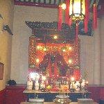 Hong Kong Hong Kong Altar inside the Man Mo Temple in Hong Kong