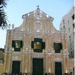 Macau Macao Portuguese cathedral in chinese Macau