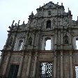 Macau Macao Pictures of the ruins of the St Paul's Cathedral