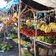 Photos of the street market in Dili, Timor