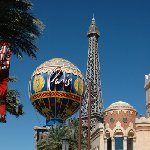 Las Vegas hotels on The Strip United States Travel Photographs