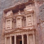 The great temple of Petra Jordan Holiday