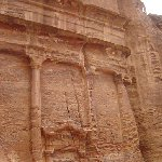 The great temple of Petra Jordan Vacation Photo
