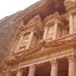 The great temple of Petra Jordan Travel Photo