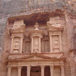The great temple of Petra Jordan Trip Pictures