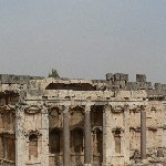 The Roman temple ruins of Baalbek Lebanon Photograph The Roman temple ruins of Baalbek