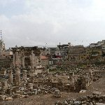The Roman temple ruins of Baalbek Lebanon Trip Adventure