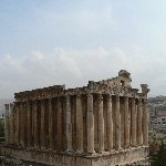 The Roman temple ruins of Baalbek Lebanon Blog Information