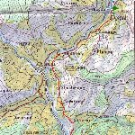 Annapurna circuit trek map Nepal Blog Photo