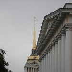 Famous buildings of Moscow Russia Diary Photo