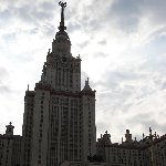 Famous buildings of Moscow Russia Story Sharing