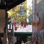 Sights in the La Boca District, Buenos Aires Argentina Picture gallery