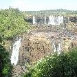 The Waterfalls at Puerto Iguazu Argentina Travel Pictures