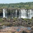 The Waterfalls at Puerto Iguazu Argentina Photography