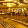 The lobby at Ceasar's Palace