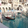 The gondels at The Venetian