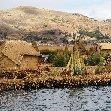 Puno floating islands Peru Travel Photo