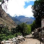 Inca trail to Machu Picchu Peru Vacation