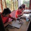 Borobudur buddhist temple Indonesia Diary Adventure