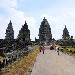 The Prambanan temple complex Indonesia Pictures The Prambanan temple complex