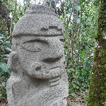 San Agustin Colombia Diary Picture