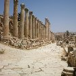 Trip from Damascus to Jerash Jordan Photograph The ancient Roman city of Jerash