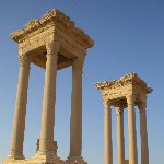 Guided Tour of Ancient Palmyra Syria Diary Pictures Travel to Damascus Syria