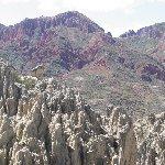La Paz to Valle de la Luna Bolivia Travel Experience