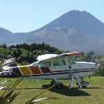 Mount Ngauruhoe flight New Zealand Diary Photo
