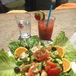H10 Andalucia Plaza Marbella Breakfast Spain Vacation Pictures Pedro's Beach Great Lunch in Marbella