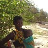Kenyan woman with her child Kenya