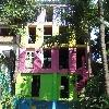 Our colourful hostel Brazil